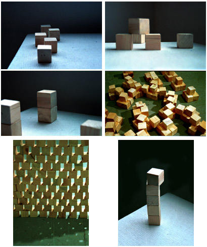 blocks: some of my sculpture portfolio