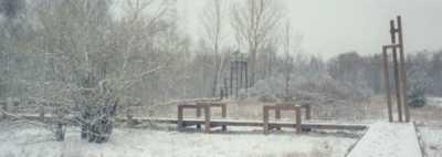 Südgelände im Winter