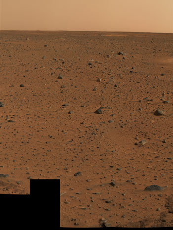Mars: Extraordinary colour photo from Mars Exploration Rover Spirit